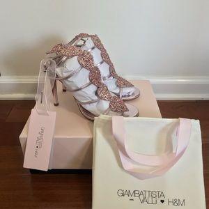 BNIB Giambattista Valli x H&M Sandals Heels 8 39